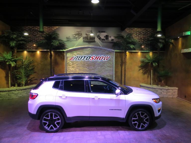 Used 2019 Jeep Compass 4WD Limited - Pano Roof, Nav, Htd Lthr! for sale $31,895 at Auto Show Sales and Finance in Winnipeg MB