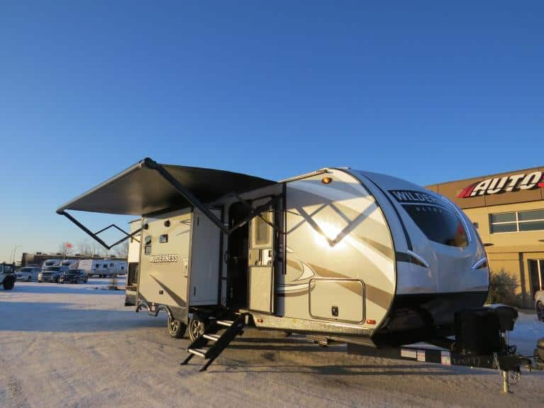 New 2020 Wilderness 2775RB Elite Pkg - Couples Style w/ Outdoor Kitchen for sale $36,880 at Auto Show Sales and Finance in Winnipeg MB R3Y 1G5 2