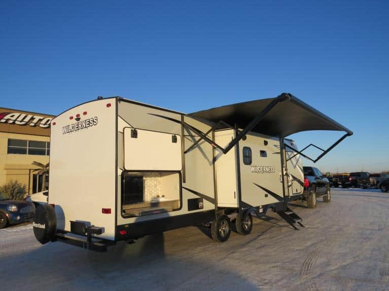 New 2020 Wilderness 2775RB Elite Pkg - Couples Style w/ Outdoor Kitchen for sale $36,880 at Auto Show Sales and Finance in Winnipeg MB