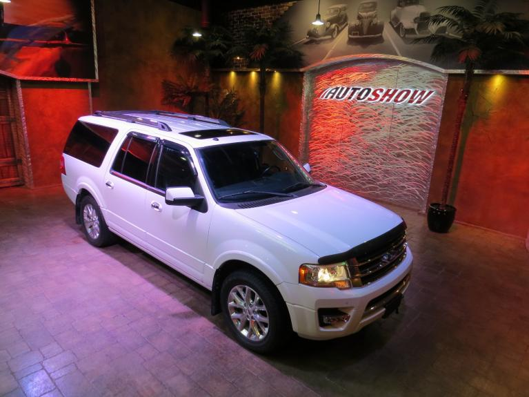 Used 2015 Ford Expedition Max Limited - DVD, S.Roof, Nav, Everything! for sale $33,600 at Auto Show Sales and Finance in Winnipeg MB