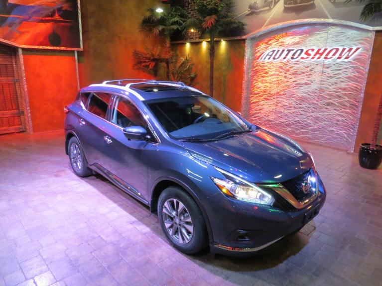Used 2015 Nissan Murano SL AWD - Pano Roof, Nav, Htd Lthr, R.Start!! for sale $24,600 at Auto Show Sales and Finance in Winnipeg MB