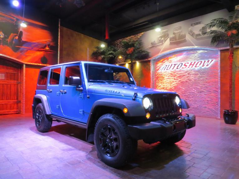 Used 2015 Jeep Wrangler Unlimited WILLYS EDITION + UPGRADED STEREO for sale $26,991 at Auto Show Sales and Finance in Winnipeg MB R3Y 1G5 2