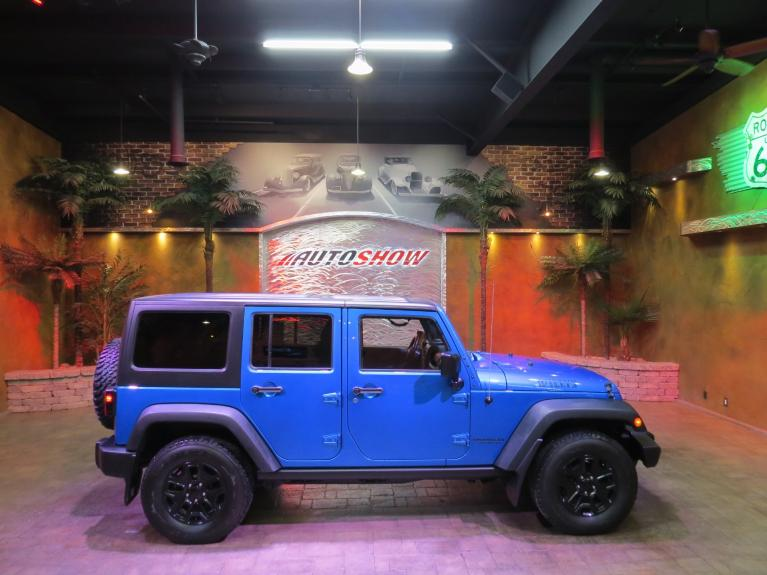 Used 2015 Jeep Wrangler Unlimited WILLYS EDITION + UPGRADED STEREO for sale $26,991 at Auto Show Sales and Finance in Winnipeg MB R3Y 1G5 1