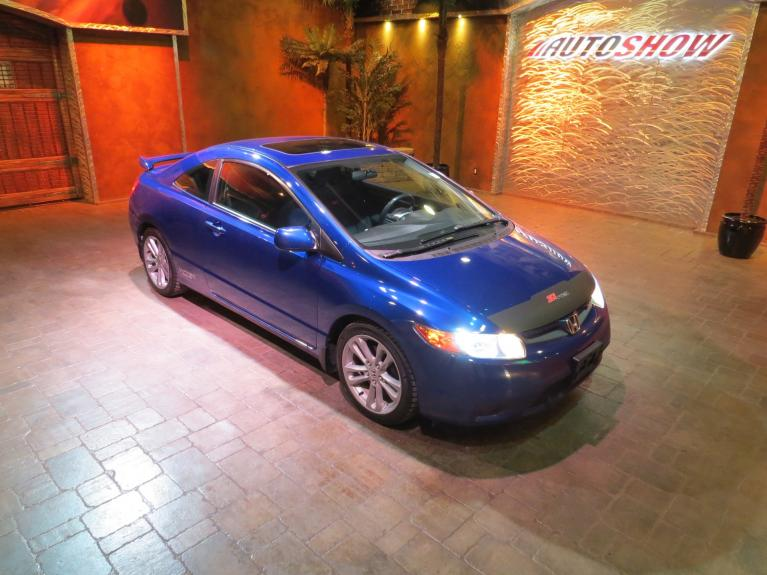 Used 2008 Honda Civic Coupe Si *i-VTEC 6 Speed Manual! Low K* for sale $10,600 at Auto Show Sales and Finance in Winnipeg MB