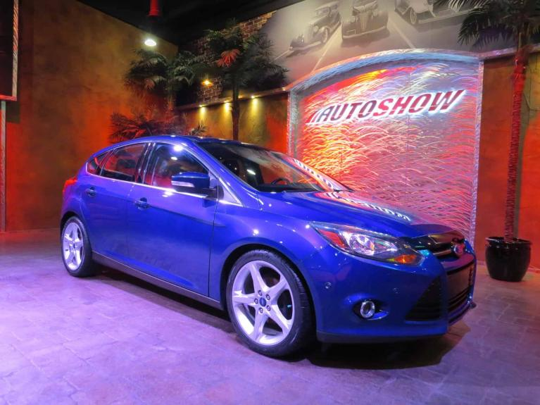Used 2014 Ford Focus Titanium - Nav, S.Roof, Htd Lthr! for sale $13,575 at Auto Show Sales and Finance in Winnipeg MB R3Y 1G5 2
