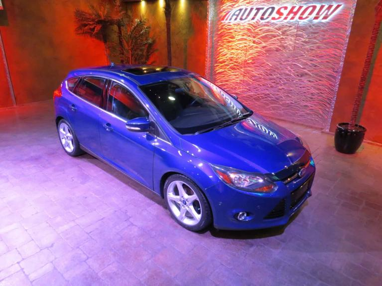 Used 2014 Ford Focus Titanium - Nav, S.Roof, Htd Lthr! for sale $13,575 at Auto Show Sales and Finance in Winnipeg MB R3Y 1G5 1