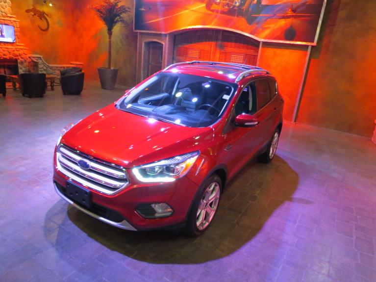 Used 2018 Ford Escape Titanium 4WD - Nav, Pano Roof, LOADED!! for sale $24,996 at Auto Show Sales and Finance in Winnipeg MB
