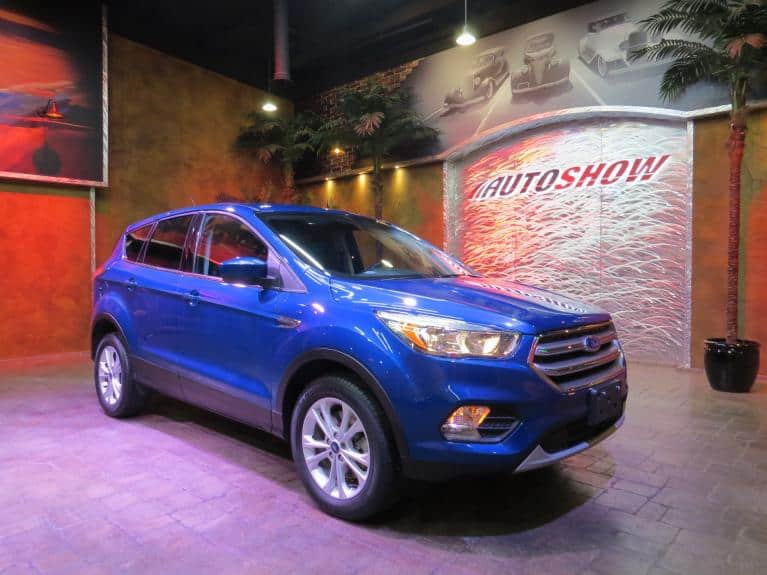 Used 2017 Ford Escape SE 4WD Turbo - Htd Seats & B.Up Cam! for sale $18,875 at Auto Show Sales and Finance in Winnipeg MB