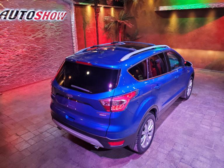 Used 2017 Ford Escape Titanium 4WD - Pano Roof, Nav, Htd Lthr!! for sale $24,277 at Auto Show Sales and Finance in Winnipeg MB R3Y 1G5 2