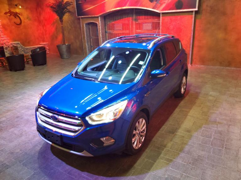 Used 2017 Ford Escape Titanium 4WD - Pano Roof, Nav, Htd Lthr!! for sale $25,277 at Auto Show Sales and Finance in Winnipeg MB