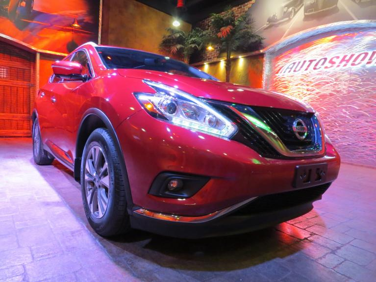 Used 2015 Nissan Murano SL AWD - Pano Roof, Nav, Htd Lthr! for sale $24,688 at Auto Show Sales and Finance in Winnipeg MB R3Y 1G5 2