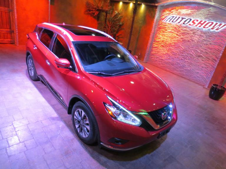 Used 2015 Nissan Murano SL AWD - Pano Roof, Nav, Htd Lthr! for sale $24,688 at Auto Show Sales and Finance in Winnipeg MB