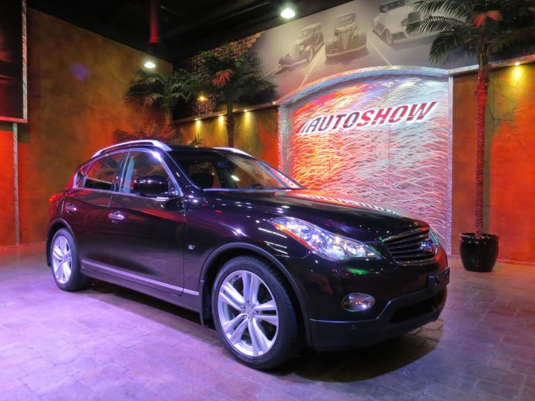 Used 2015 INFINITI QX50 AWD - Nav, S.Roof, Htd Lthr!! for sale $22,640 at Auto Show Sales and Finance in Winnipeg MB R3Y 1G5 2
