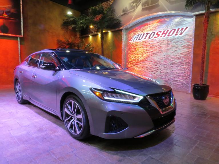 Used 2019 Nissan Maxima 3.5 SL - Nav, Pano Roof, Htd Lthr & Steering for sale $26,875 at Auto Show Sales and Finance in Winnipeg MB R3Y 1G5 2