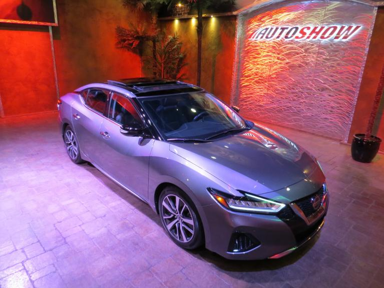 Used 2019 Nissan Maxima 3.5 SL - Nav, Pano Roof, Htd Lthr & Steering for sale $26,875 at Auto Show Sales and Finance in Winnipeg MB