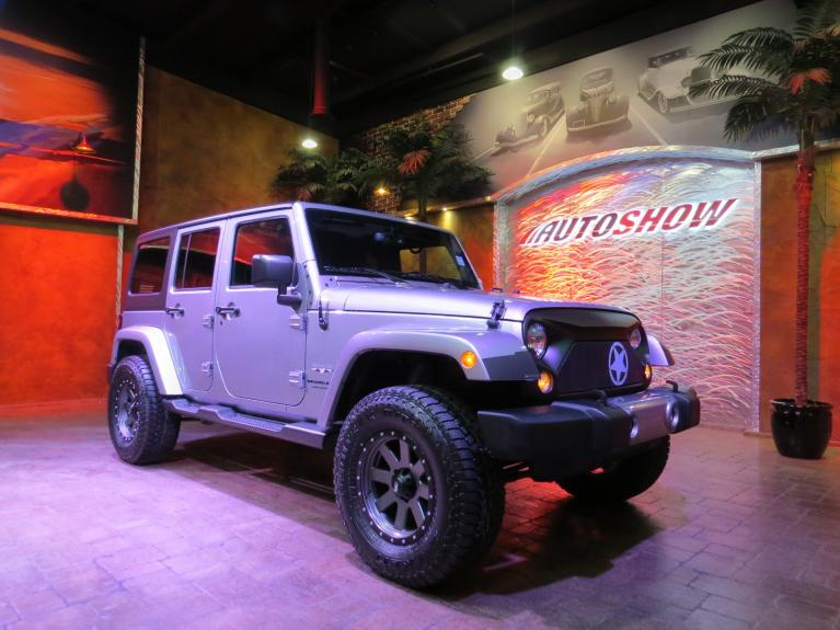 Used 2018 Jeep Wrangler JK Unlimited Sahara - Custom Lifted / Upgraded & Nav! for sale $33,866 at Auto Show Sales and Finance in Winnipeg MB