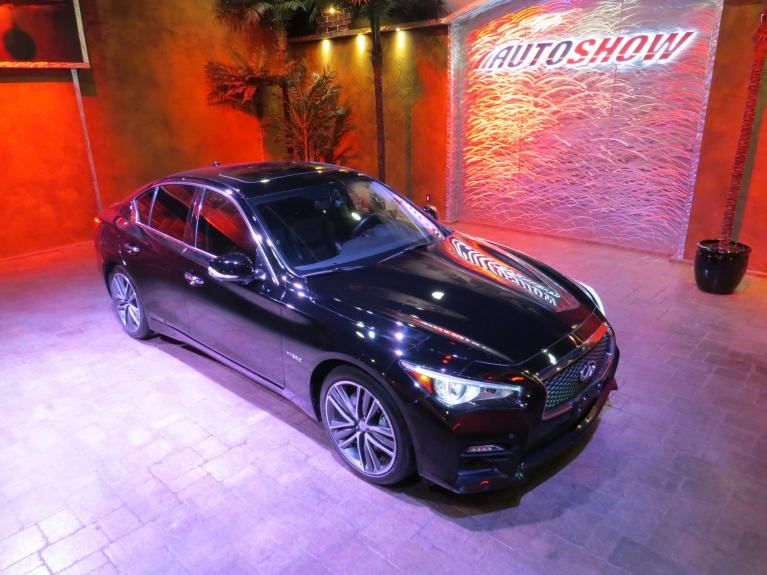 Used 2015 INFINITI Q50 Q50S Hybrid AWD - V6, Nav & S.Roof!! for sale $25,800 at Auto Show Sales and Finance in Winnipeg MB R3Y 1G5 1