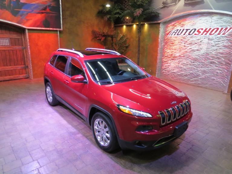 Used 2016 Jeep Cherokee Limited - Pano Roof, Nav, Htd Lthr & Wheel for sale $25,688 at Auto Show Sales and Finance in Winnipeg MB R3Y 1G5 2