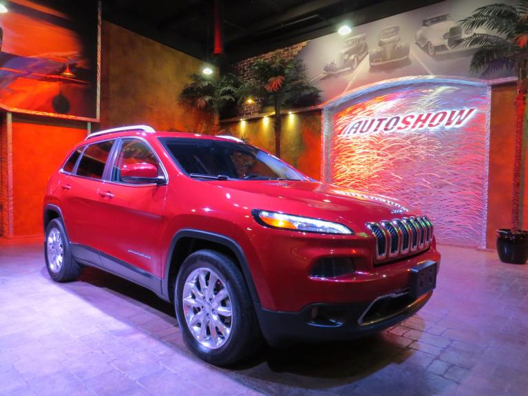 Used 2016 Jeep Cherokee Limited - Pano Roof, Nav, Htd Lthr & Wheel for sale $25,688 at Auto Show Sales and Finance in Winnipeg MB