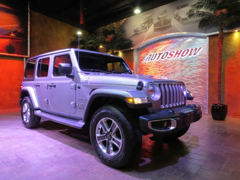 Used 2018 Jeep Wrangler Unlimited Sahara - Htd Steering & Lthr & R.Start! for sale $42,600 at Auto Show Sales and Finance in Winnipeg MB
