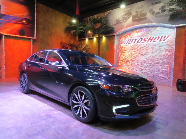 Used 2017 Chevrolet Malibu LT - Htd Lthr, Pano Roof, Navigation for sale Sold at Auto Show Sales and Finance in Winnipeg MB R3Y 1G5 2