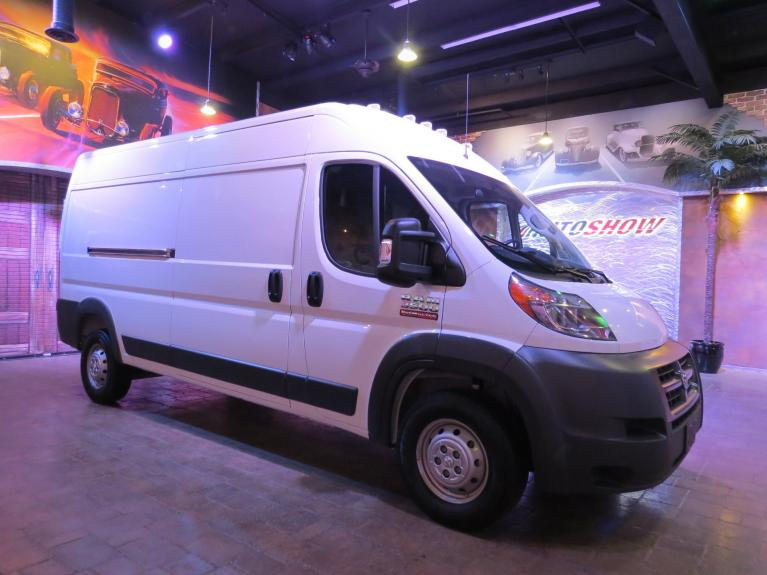 Used 2018 Ram ProMaster Cargo Van 3500 HR 159-in. (XL) WB w/ Nav & B.Up Cam! for sale $35,875 at Auto Show Sales and Finance in Winnipeg MB