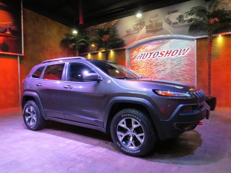 Used 2016 Jeep Cherokee Trailhawk - Nav, Htd Wheel & Lthr! for sale $26,800 at Auto Show Sales and Finance in Winnipeg MB R3Y 1G5 1