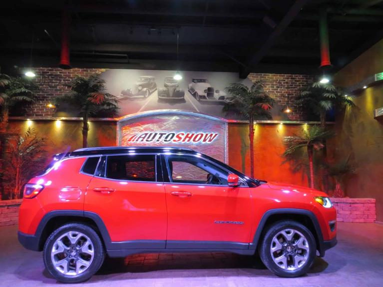 Used 2018 Jeep Compass Limited *Pano Roof, Htd Lthr, Nav* for sale $28,665 at Auto Show Sales and Finance in Winnipeg MB R3Y 1G5 2