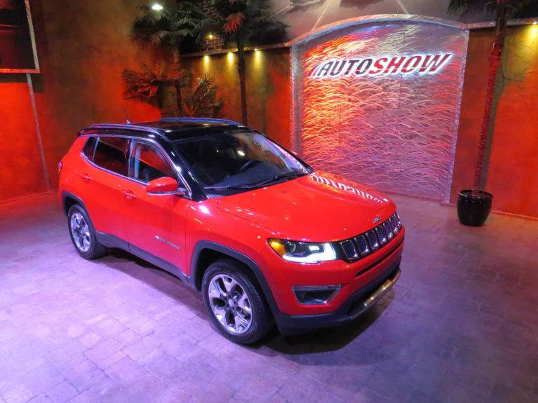 Used 2018 Jeep Compass Limited *Pano Roof, Htd Lthr, Nav* for sale $28,665 at Auto Show Sales and Finance in Winnipeg MB
