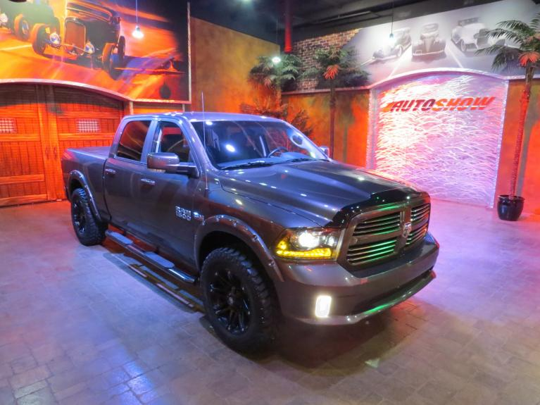 Used 2014 Ram 1500 SPORT - LEATHER - Nav, Customized!! for sale $27,600 at Auto Show Sales and Finance in Winnipeg MB