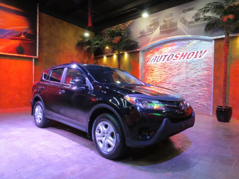 Used 2014 Toyota RAV4 LE 4x4 - Gorgeous Black on Black! for sale $20,800 at Auto Show Sales and Finance in Winnipeg MB