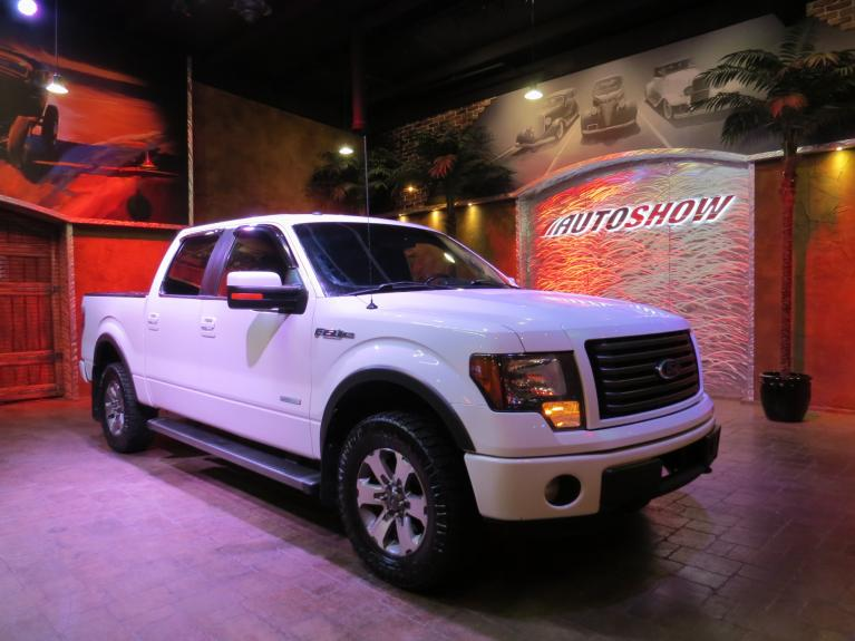 Used 2012 Ford F-150 FX4 - Htd & AC Lthr, B.Up Cam, Tow Pkg! for sale $18,600 at Auto Show Sales and Finance in Winnipeg MB