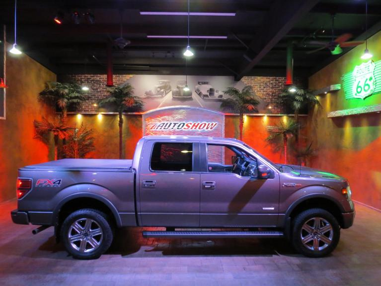 Used 2014 Ford F-150 FX4 Crew - Htd & AC Lthr, S.Roof, Nav! for sale $29,975 at Auto Show Sales and Finance in Winnipeg MB R3Y 1G5 2