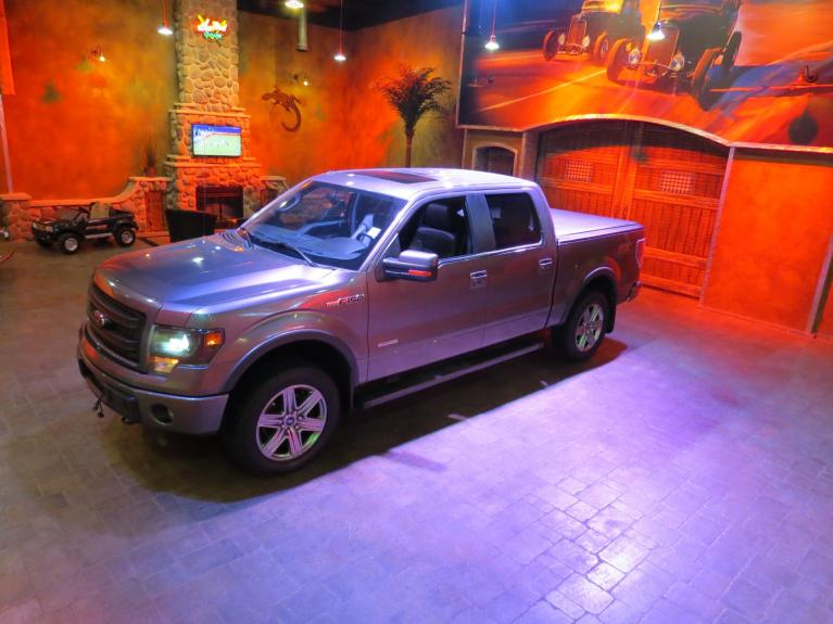 Used 2014 Ford F-150 FX4 Crew - Htd & AC Lthr, S.Roof, Nav! for sale $29,975 at Auto Show Sales and Finance in Winnipeg MB