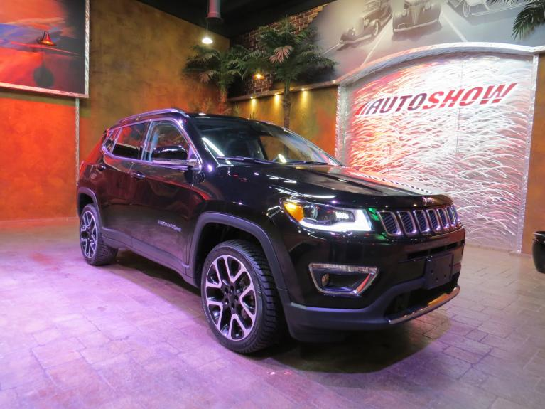 Used 2018 Jeep Compass Limited 4x4 - Pano Roof, Htd Lthr, Nav, Tow Pkg! for sale $27,999 at Auto Show Sales and Finance in Winnipeg MB R3Y 1G5 2