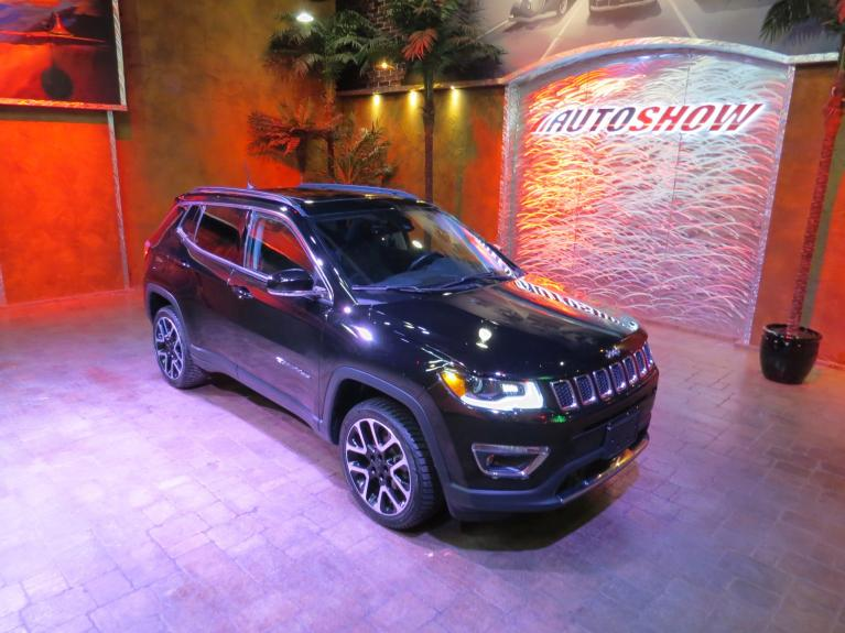 Used 2018 Jeep Compass Limited 4x4 - Pano Roof, Htd Lthr, Nav, Tow Pkg! for sale $27,999 at Auto Show Sales and Finance in Winnipeg MB