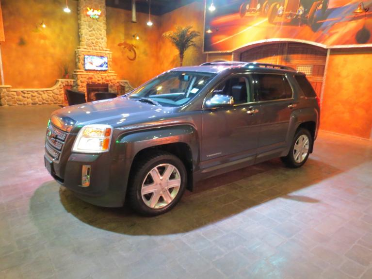 Used 2010 GMC Terrain SLT-2 V6 4x4 - S.Roof, Htd Lthr, Tow Pkg for sale $9,800 at Auto Show Sales and Finance in Winnipeg MB R3Y 1G5 2