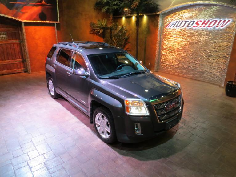 Used 2010 GMC Terrain SLT-2 V6 4x4 - S.Roof, Htd Lthr, Tow Pkg for sale $9,800 at Auto Show Sales and Finance in Winnipeg MB