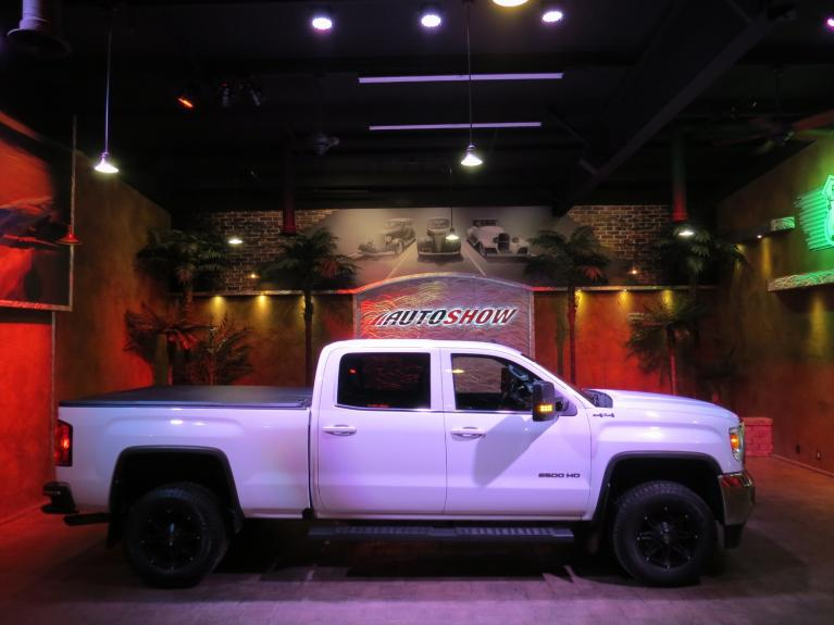 Used 2017 GMC Sierra 2500HD SLE+ Htd Lthr, Big Screen, R.Start, 4x4! for sale $40,600 at Auto Show Sales and Finance in Winnipeg MB R3Y 1G5 1