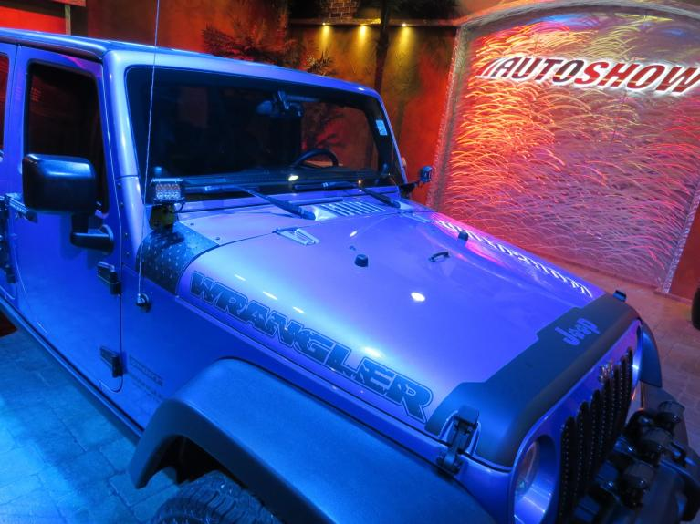 Used 2014 Jeep Wrangler Unlimited ** MUST MUST SEE!! MODDED WRANGLER!! ** for sale $25,800 at Auto Show Sales and Finance in Winnipeg MB R3Y 1G5 2