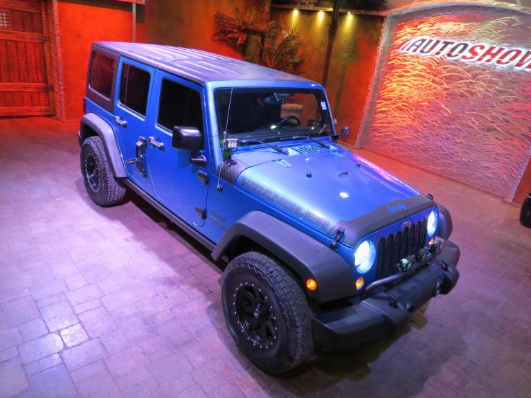 Used 2014 Jeep Wrangler Unlimited ** MUST MUST SEE!! MODDED WRANGLER!! ** for sale $25,800 at Auto Show Sales and Finance in Winnipeg MB