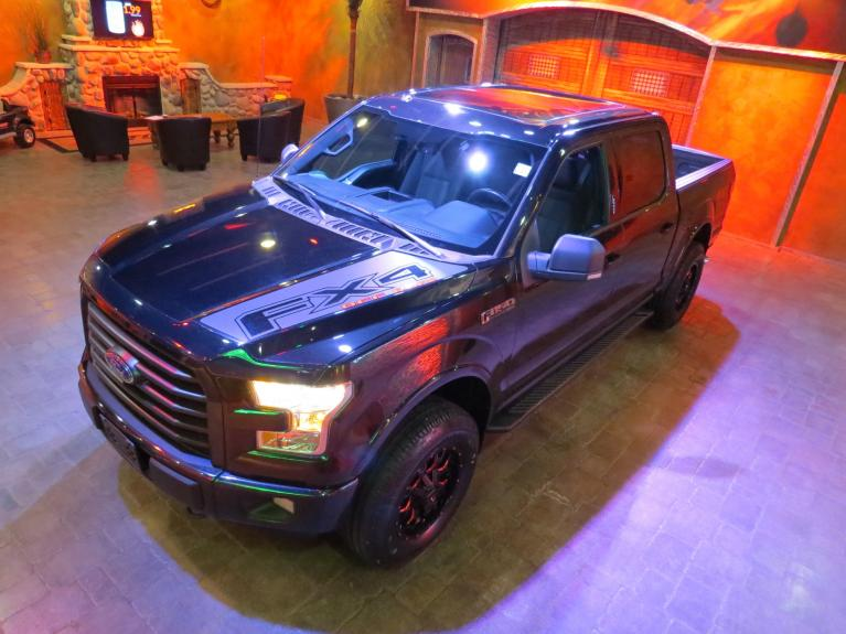Used 2015 Ford F-150 FX4 SuperCrew 5.0L *Exhaust, Pano Roof, Htd Seats* for sale $31,600 at Auto Show Sales and Finance in Winnipeg MB