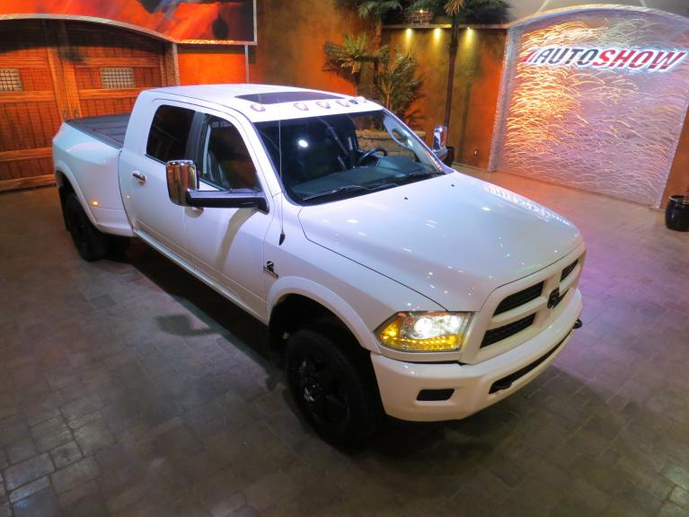 Used 2015 Ram 3500 Dually Laramie Sport - Huge Mega Cab Cummins!!! for sale Sold at Auto Show Sales and Finance in Winnipeg MB R3Y 1G5 1