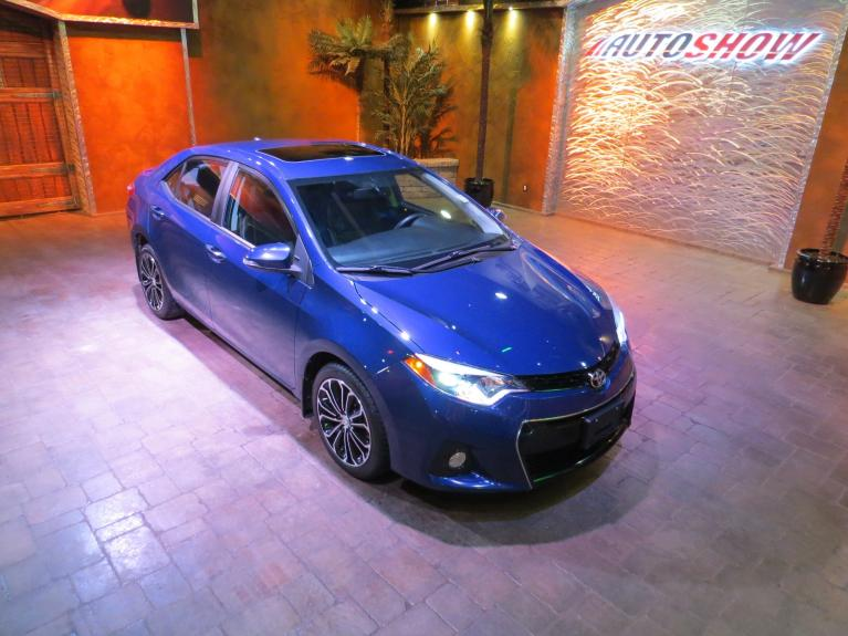 Used 2014 Toyota Corolla SPORT Premium *Sunroof, Htd Lthr, Nav!* for sale $16,675 at Auto Show Sales and Finance in Winnipeg MB R3Y 1G5 2