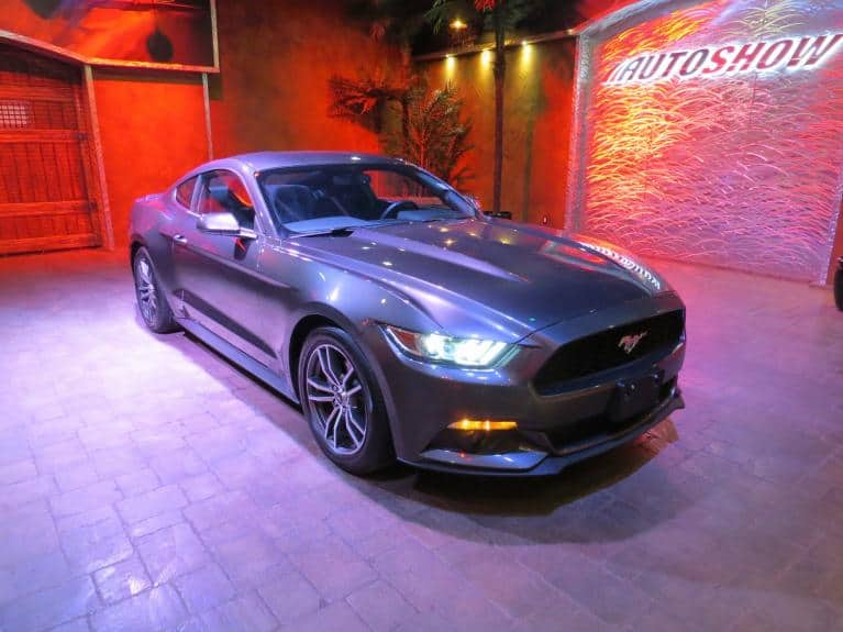 Used 2017 Ford Mustang Ecoboost *Track Apps, Paddle Shifters, LOW K* for sale $27,566 at Auto Show Sales and Finance in Winnipeg MB R3Y 1G5 2