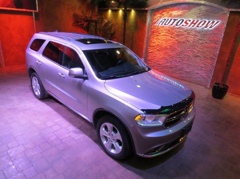 Used 2016 Dodge Durango Limited 4x4 - S.Roof, Htd Lthr Front & Rear! for sale $25,875 at Auto Show Sales and Finance in Winnipeg MB R3Y 1G5 1