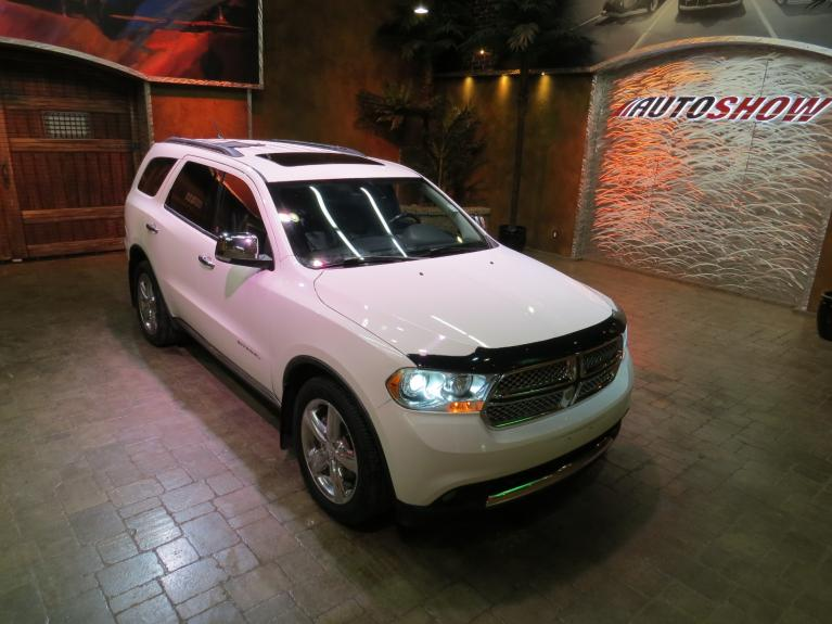 Used 2011 Dodge Durango Citadel w/ Hemi, DVD, Htd Lthr, Tow Pkg!* for sale $19,600 at Auto Show Sales and Finance in Winnipeg MB