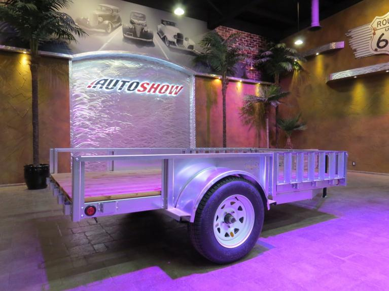 New 2019 Metal Valley Manufacturing Galvanized Steel Trailer New!  6 X 12 w/ Electrical & 3500 Lb. Axle! for sale $1,999 at Auto Show Sales and Finance in Winnipeg MB R3Y 1G5 2