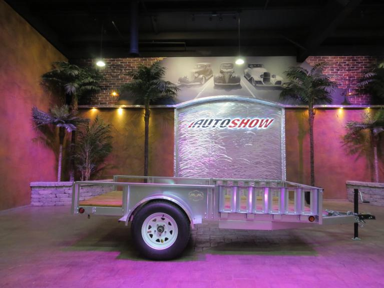 New 2019 Metal Valley Manufacturing Galvanized Steel Trailer New!  6 X 12 w/ Electrical & 3500 Lb. Axle! for sale $1,999 at Auto Show Sales and Finance in Winnipeg MB R3Y 1G5 1