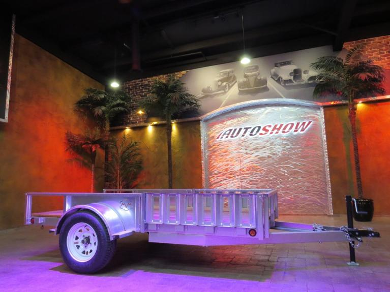 New 2019 Metal Valley Manufacturing Galvanized Steel Trailer New!  5 X 10 w/ Electrical and 3500 lbs. Rear Axle! for sale $1,699 at Auto Show Sales and Finance in Winnipeg MB